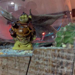 buddha shrek project365no4 journeezen