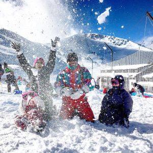 loanelena les 4l au ski stlary